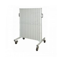Bins Per Louvre Rail Single or Double Sided Tuff Stand and Trolley