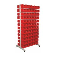 Alkon Tuff Double Sided Stand : ATDSS with Bull Bins