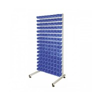 Alkon Tuff Single Sided Stand : ATSSS with Hippo Bins