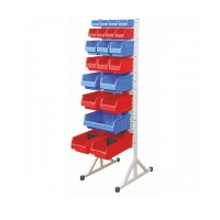 Supra Bins on Louvre Panel Stand : FSS/C
